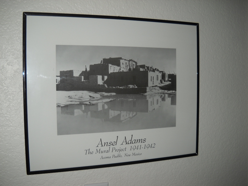 Ansel adams print framed the mural project 1941 42 for Ansel adams the mural project prints