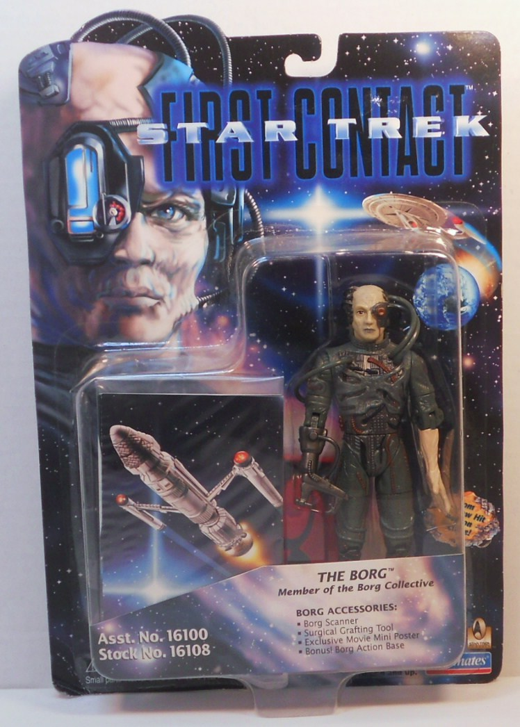 Image 0 of Star Trek The Next Generation First Contact Borg Action figure 1996