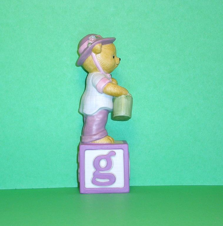 Image 3 of Alpha Block Bears Bronson Collectibles block G 1993