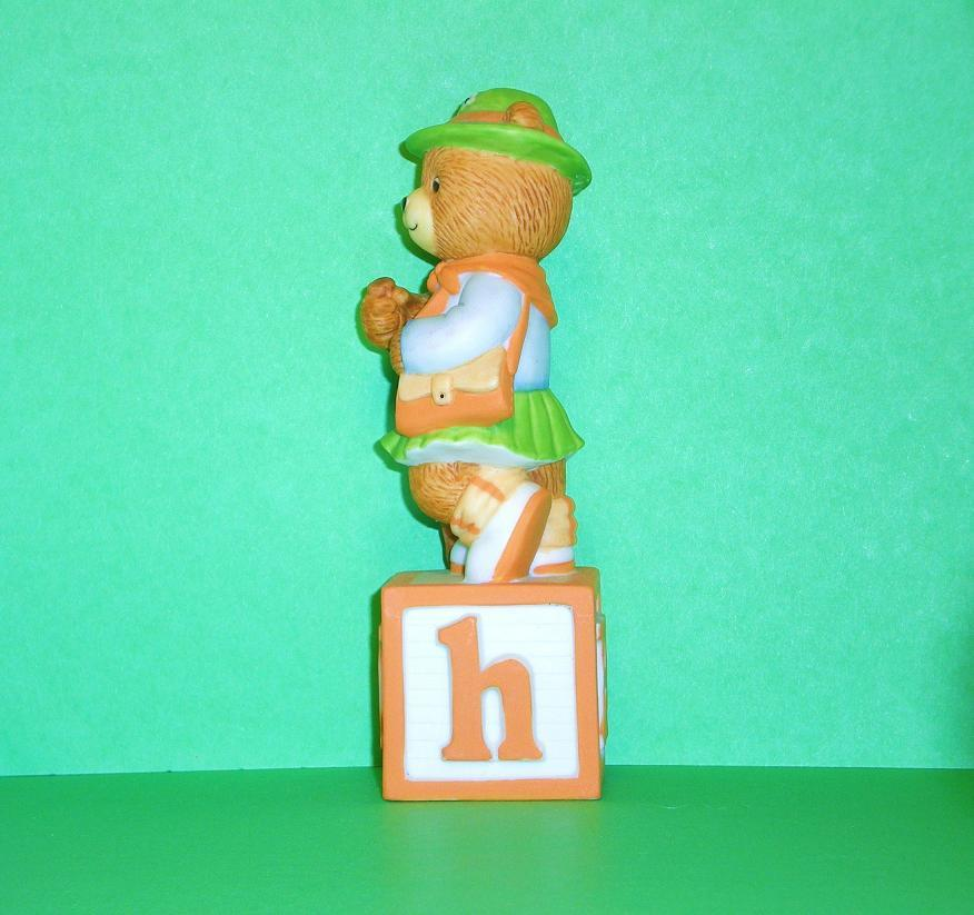 Image 1 of Alpha Block Bears Bronson Collectibles block H 1992