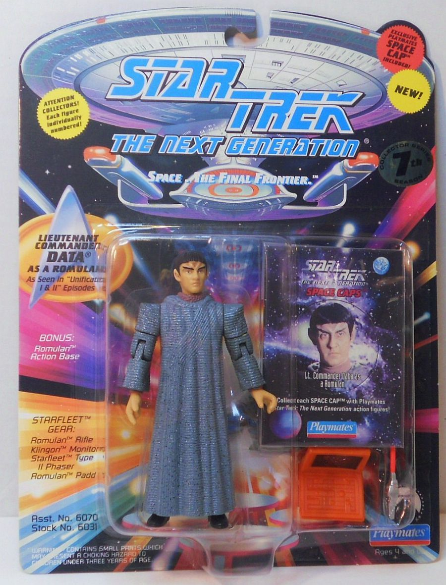 Star Trek The Next Generation Picard as Romulan Unification episode 1994
