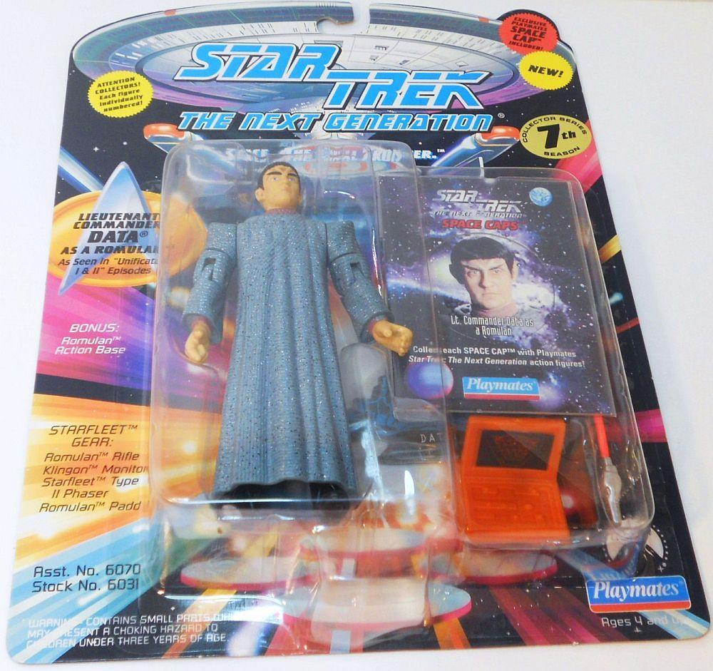 Image 2 of Star Trek The Next Generation Data as Romulan Unification episode 1994