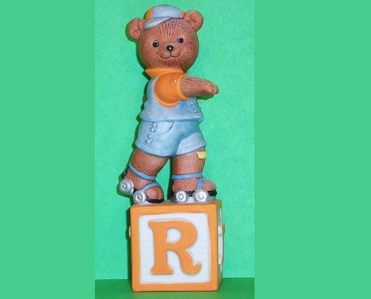 Alpha Block Bears Bronson Collectibles block R 1993
