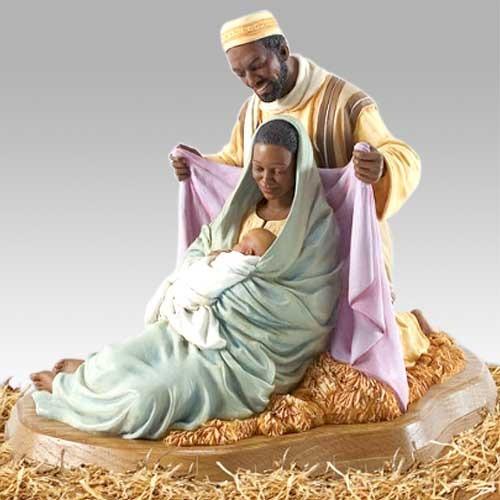 Ebony Visions The Holy Family By Thomas Blackshear New W