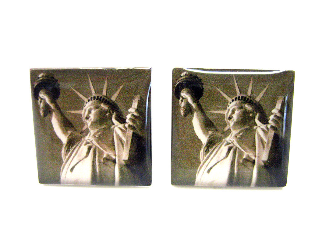 Statue Of Liberty Cufflinks Cufflinks