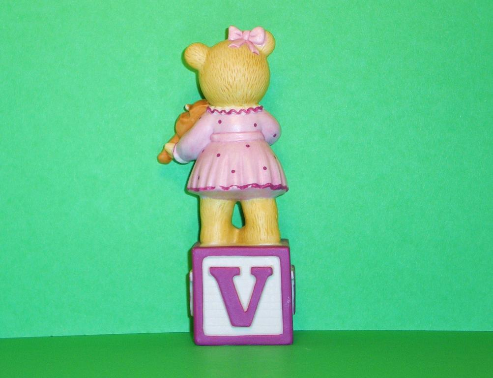 Image 2 of Alpha Block Bears Bronson Collectibles block V 1994