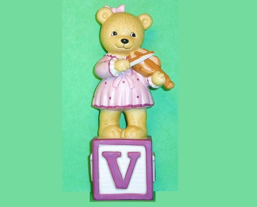 Image 0 of Alpha Block Bears Bronson Collectibles block V 1994