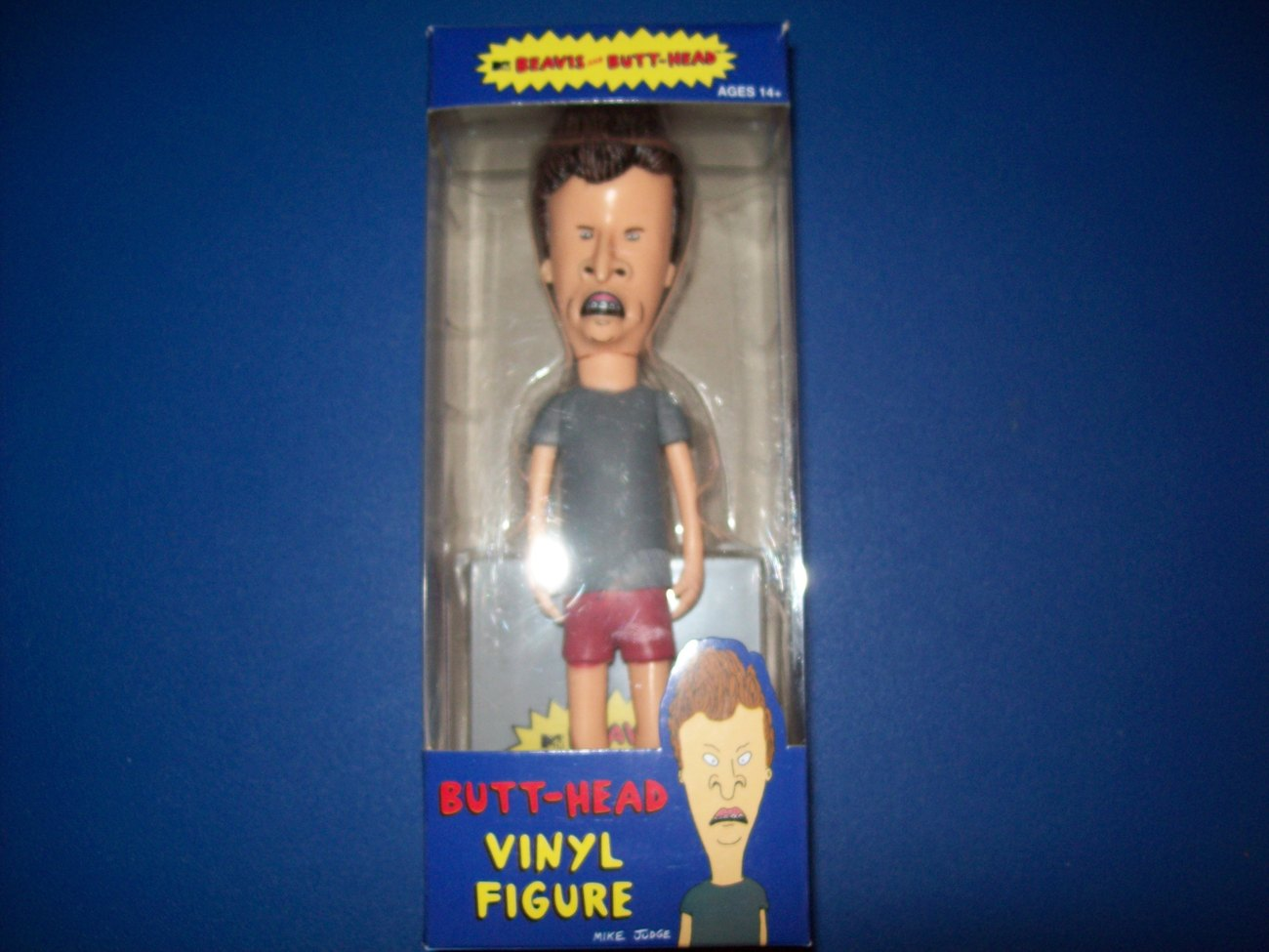 FREE SHIP butthead vinyl figure funko from beavis and butthead pvc nib toy