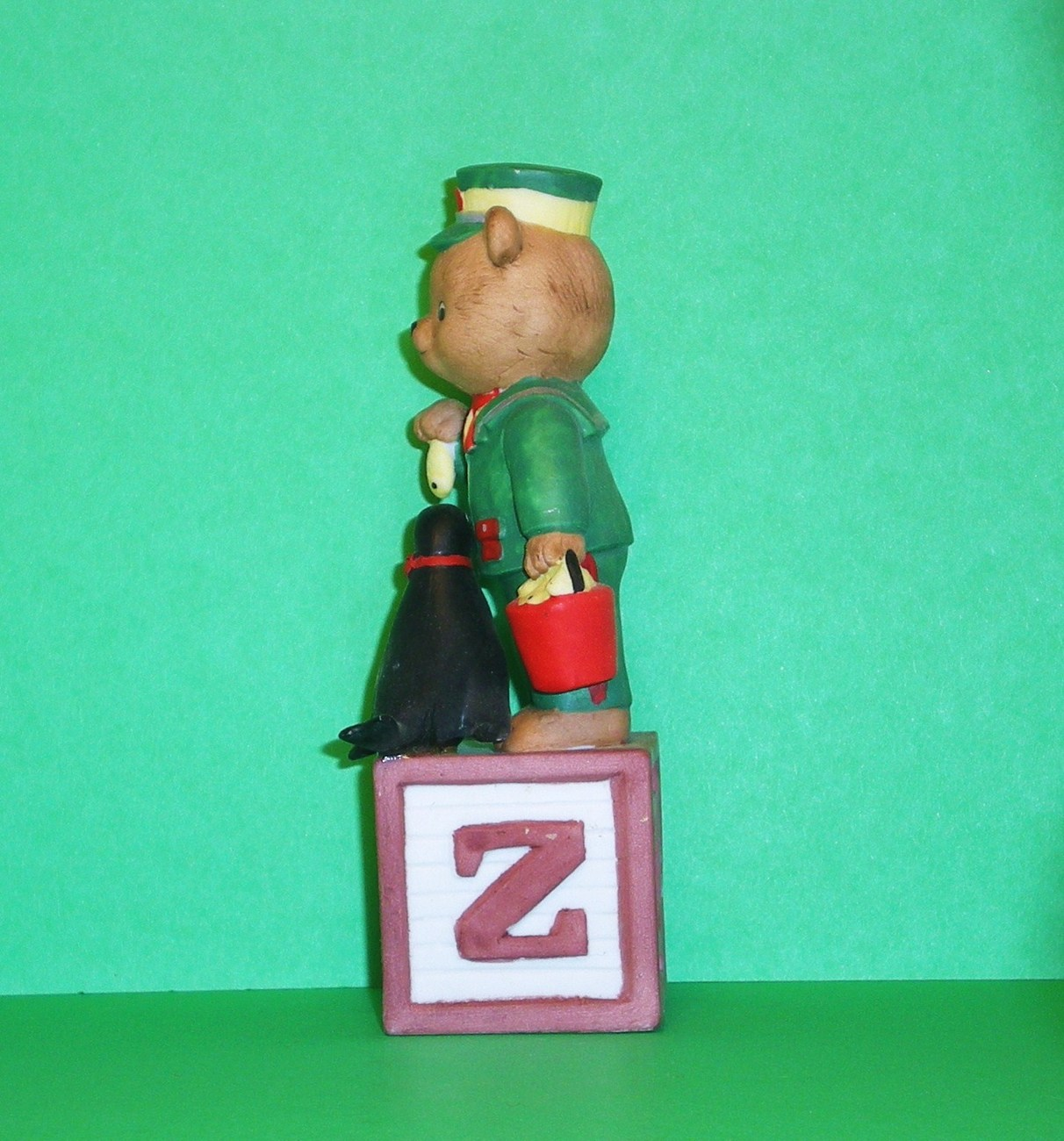 Image 1 of Alpha Block Bears Bronson Collectibles block Z 1992