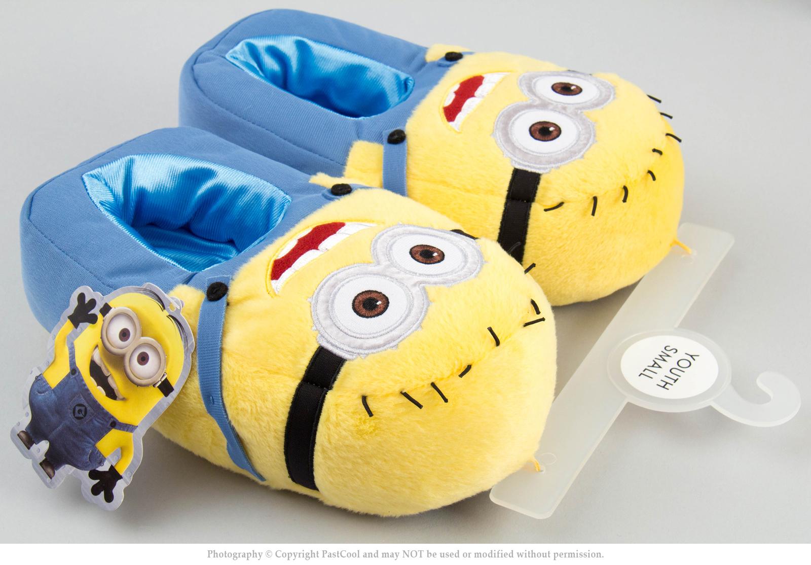 me minion plush bedroom slippers minion mayhem kids new slippers