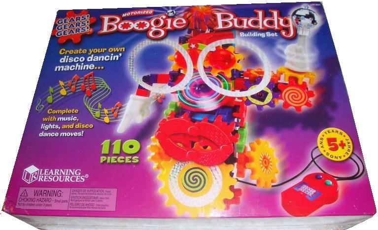 Gears! Gears! Gears! Motorize Boogie Buddy Building Learning Resources