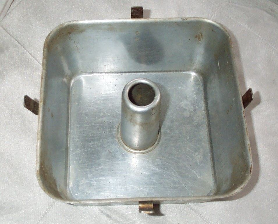 Wear Ever Aluminum Square Angel Food Cake Pan Made In Usa