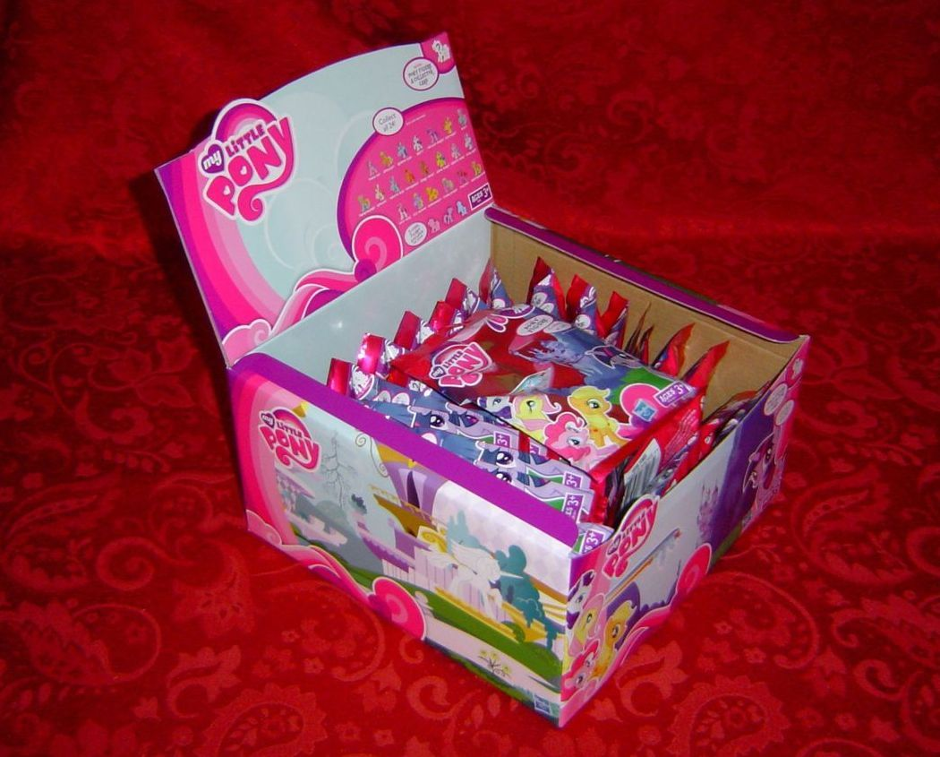My Little Pony Blind Bags Kiosk Set Of 24 Wave 1 Unopened