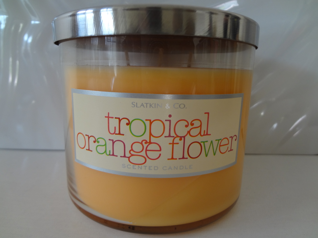 Bath body works slatkin co tropical orange flower for Bath and body works scents best seller