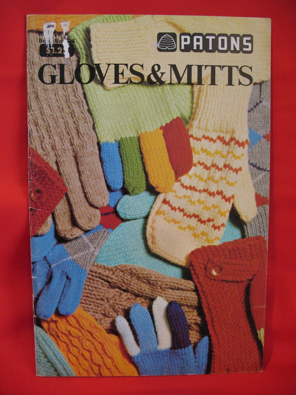 Patons Garter Gloves Dragon Mitts Knitting Patterns Family ...