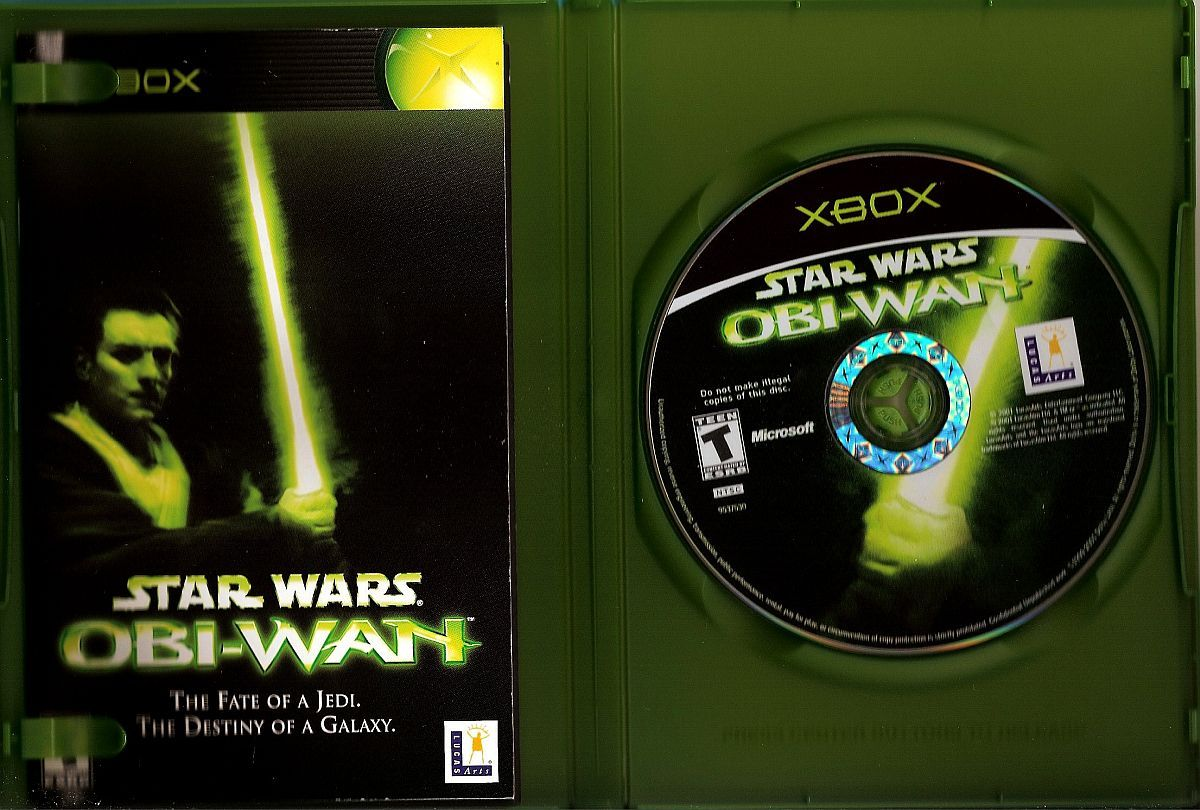 Image 2 of Star Wars Obi-Wan XBox video game 2001