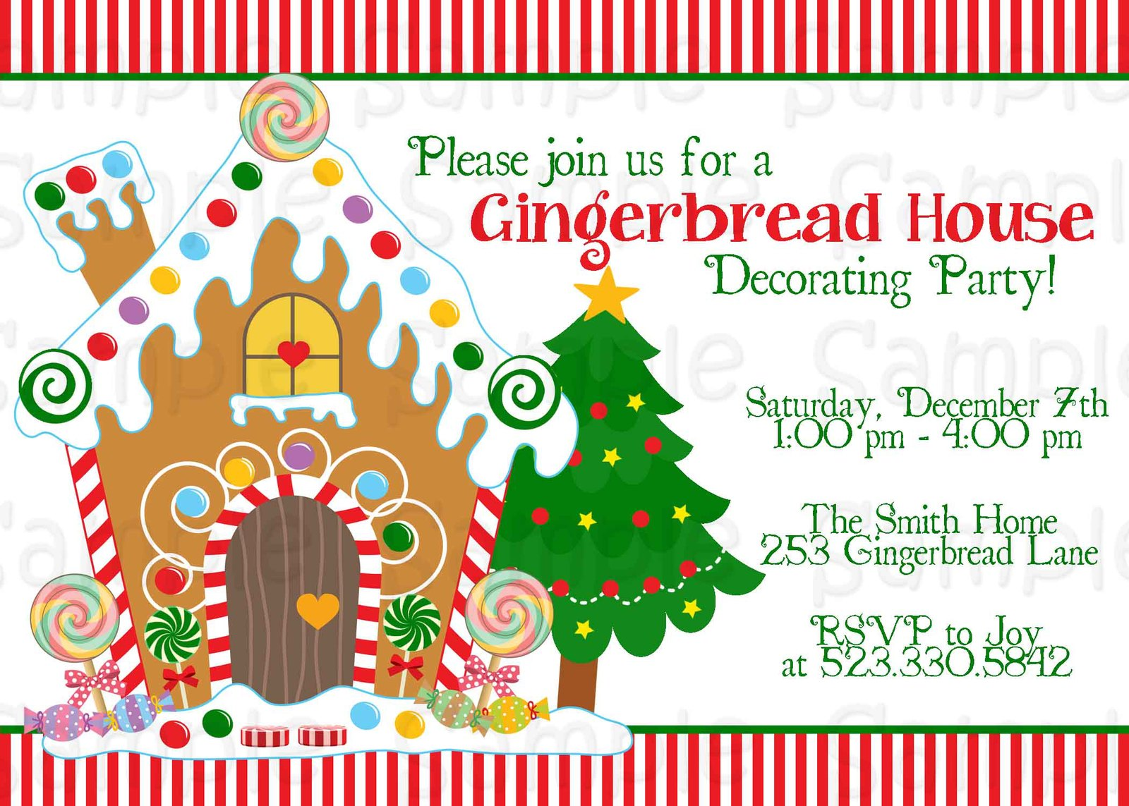 Gingerbread Party Invitations Images Reverse Search – Gingerbread Party Invitations