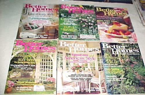 Better Homes And Gardens 1996 March April May June July