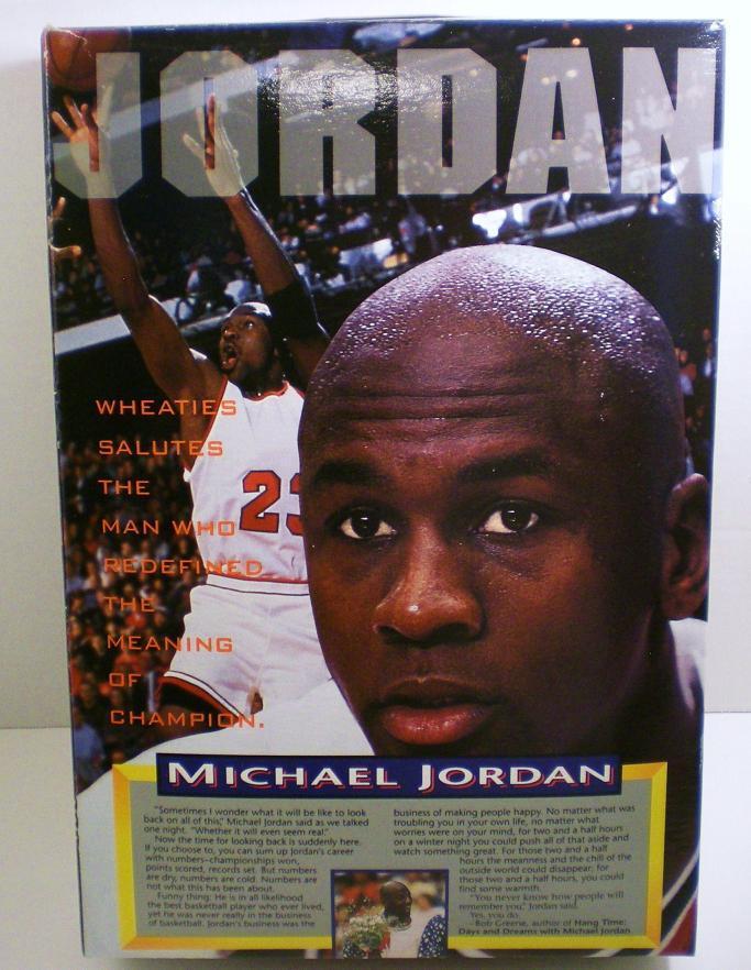 Image 1 of Michael Jordan 1994 unopened Wheaties Cereal Box