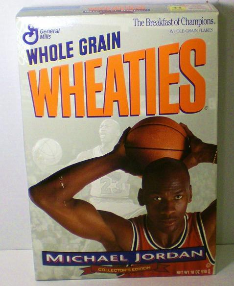 Image 3 of Michael Jordan 1994 unopened Wheaties Cereal Box
