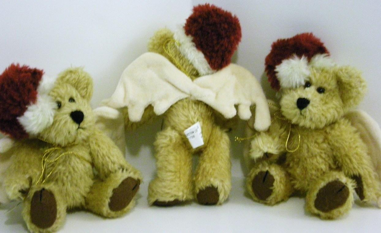Boyd's Bears Bearwear Christmas Angels QVC