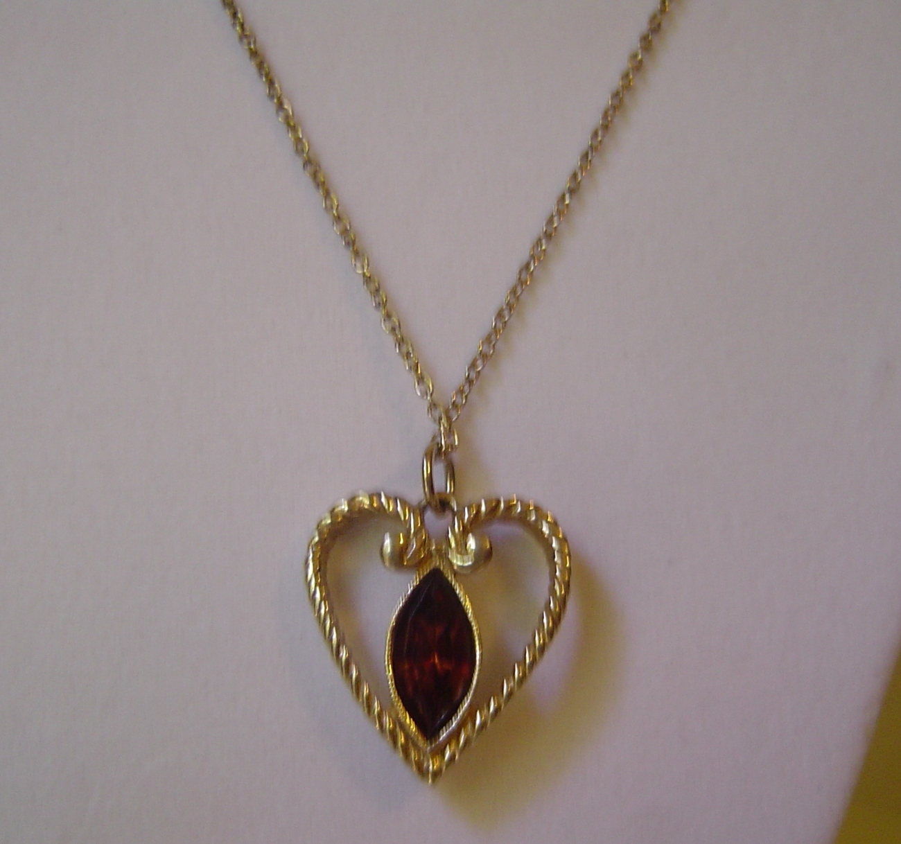 how to make small heart pendant