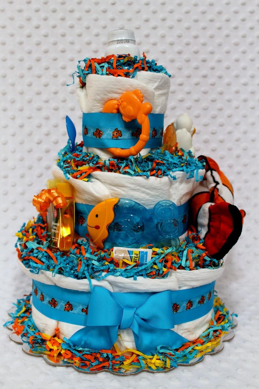 Finding Nemo Baby Shower Invitations Amazon Shower Cake Baby. Nemo ...