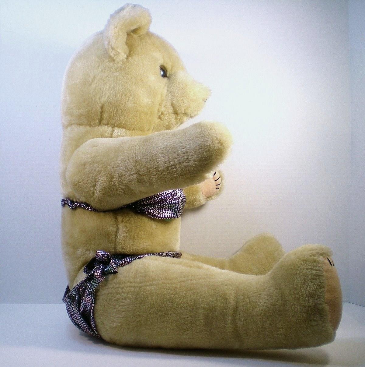 Image 1 of Teddy Bear 25 in ready for the beach bear Cannon Falls 1990