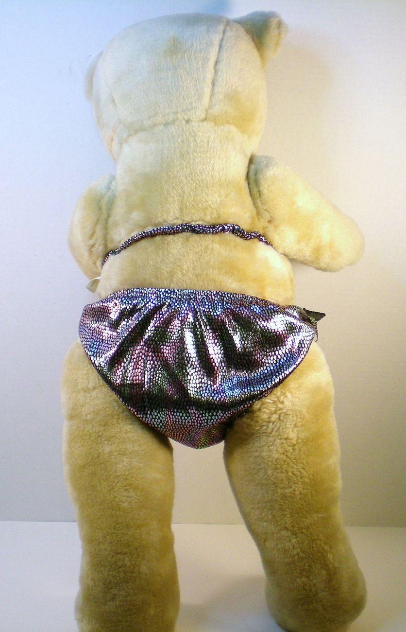 Image 3 of Teddy Bear 25 in ready for the beach bear Cannon Falls 1990