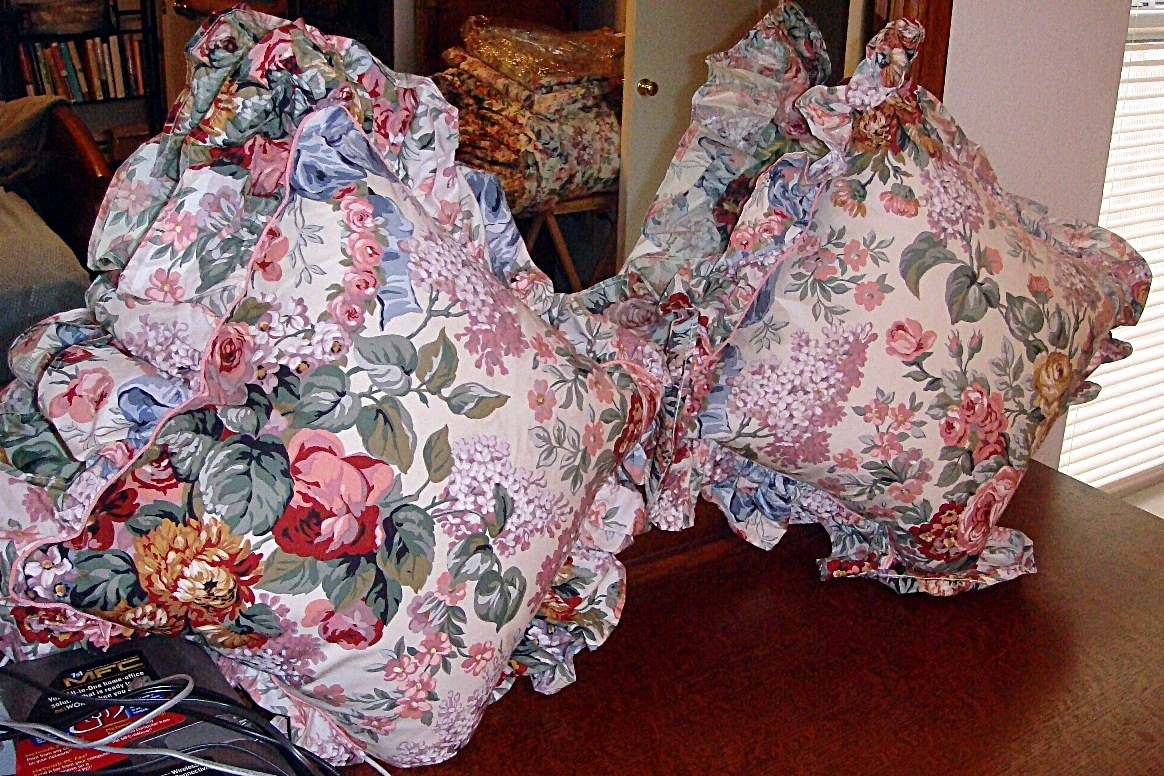 Reduced ralph lauren allison floral king comforter amp queen sheets 6pc