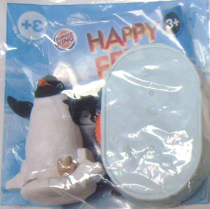 Burger King Kid's Meal Happy Feet Two Spin n Glide Ramon 2011