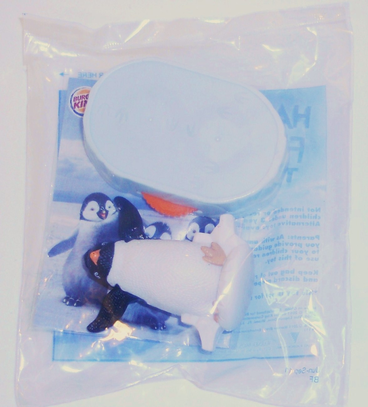 Burger King Kid's Meal Happy Feet Two