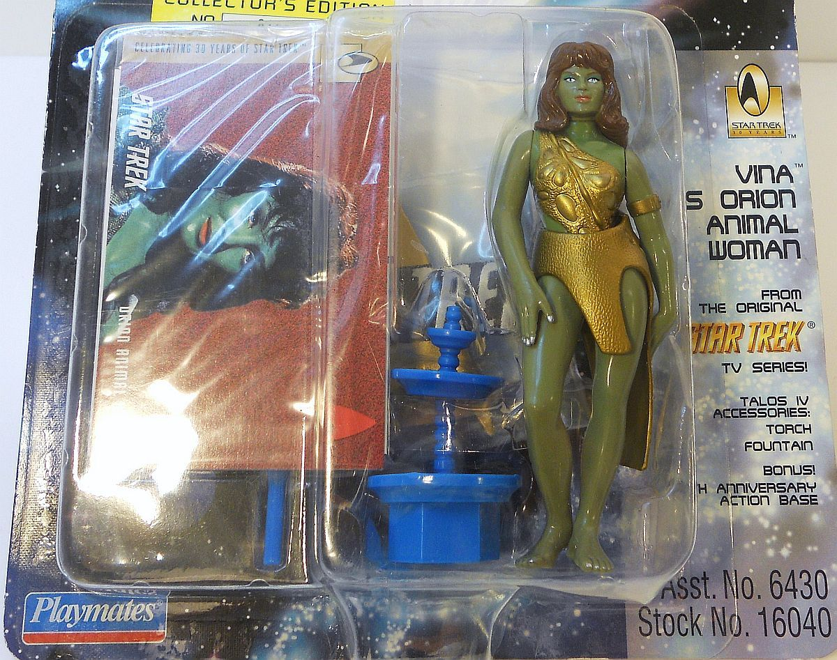 Star Trek TOS Vina as the Orion Girl The Cage Playmates 1996