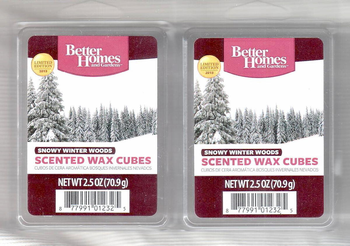 Better homes wax cubes Lookup BeforeBuying