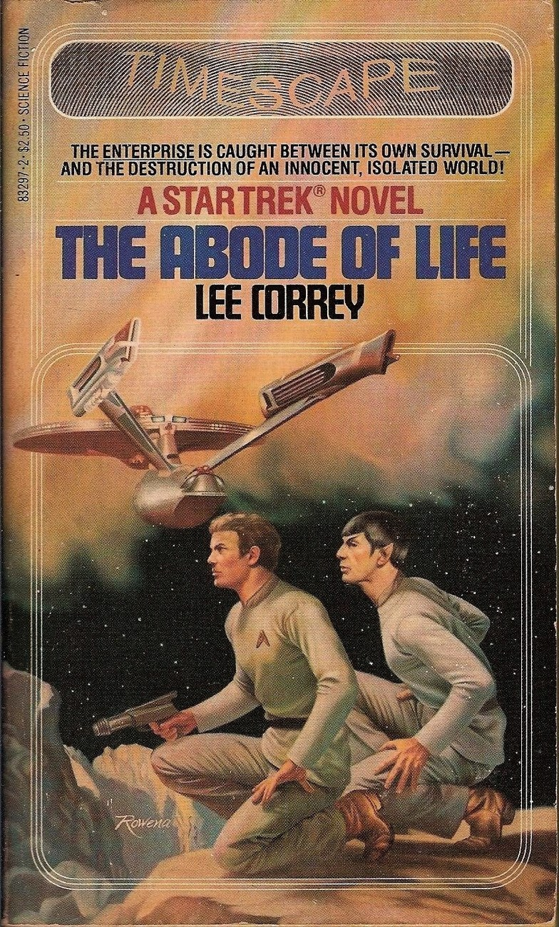 Star Trek TOS The Abode of Life Lee Correy 1982