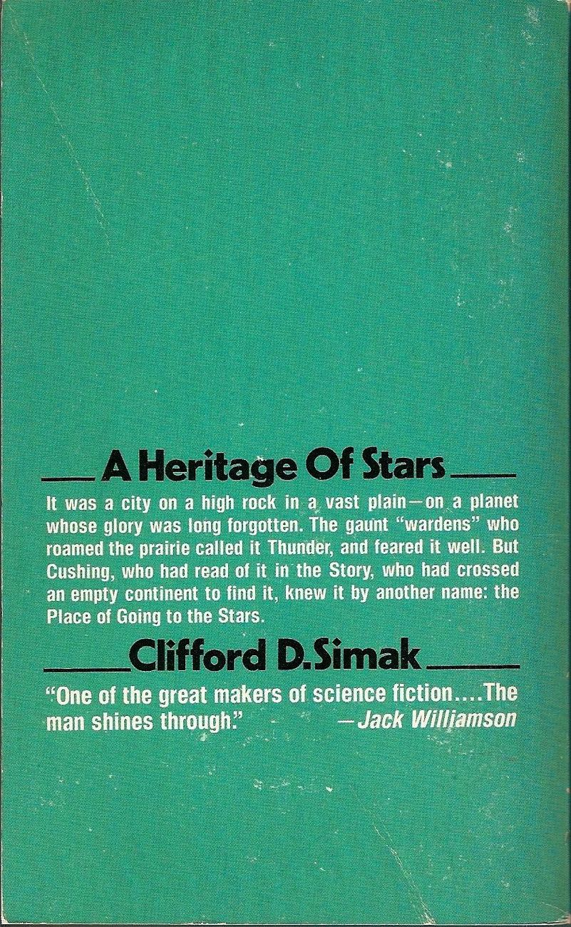 by Clifford D. Simak 1978