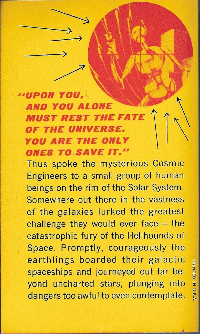 Image 1 of Cosmic Engineers by Clifford D. Simak 1967 printing