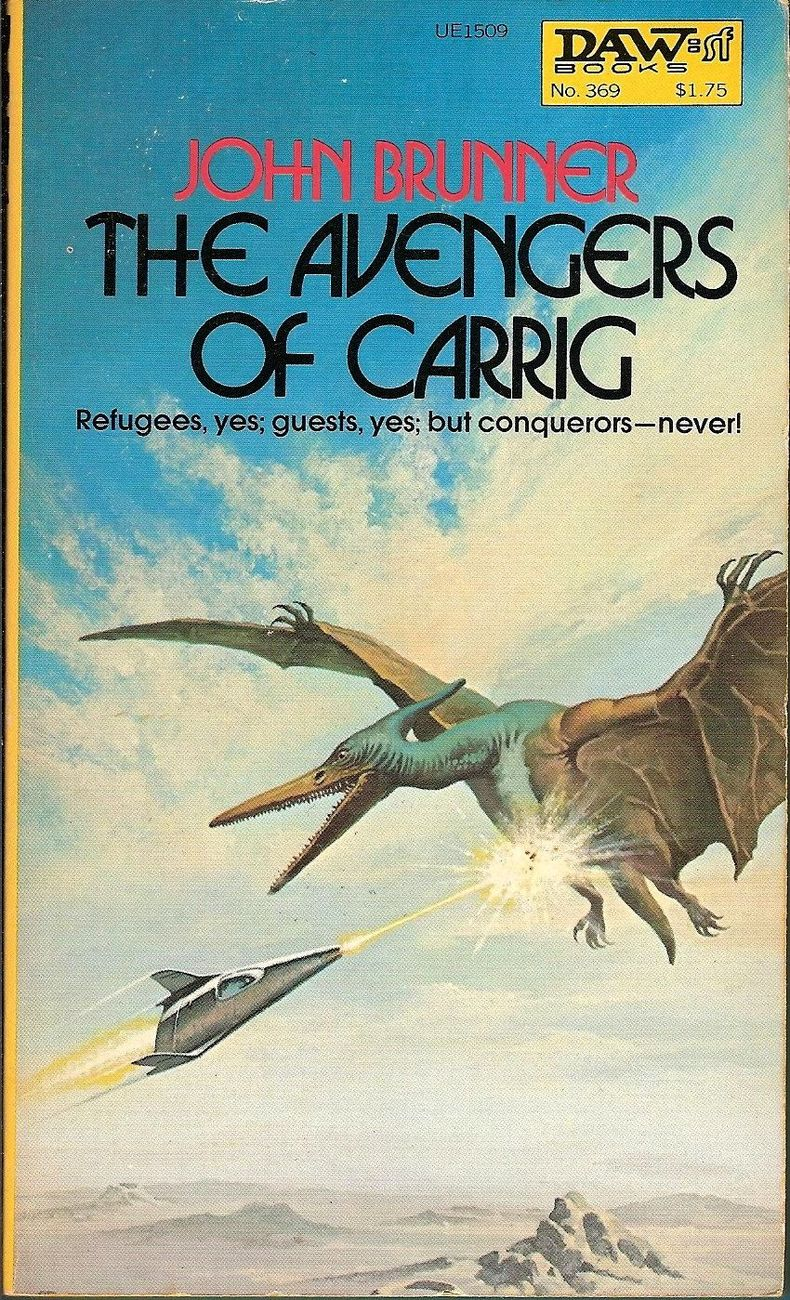The Avenger Of Carrig by John Brunner 1980 Daw 369