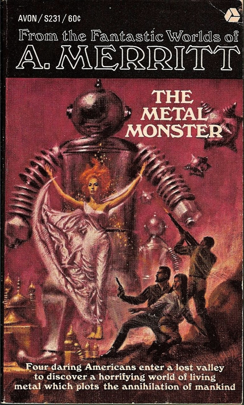 Image 0 of The Metal Monster by A Merritt 1966 printing