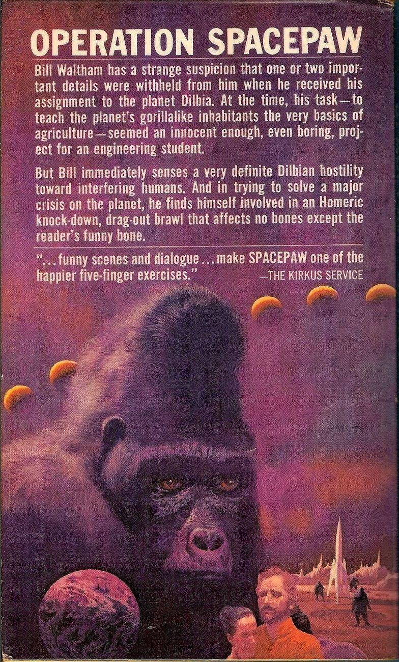 Image 1 of Spacepaw by Gordon R. Dickson 1969