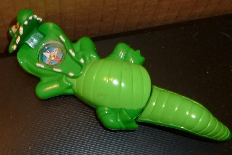 Peter Pan Toys : Peter pan crock crocodile mcd toy w compass fast food