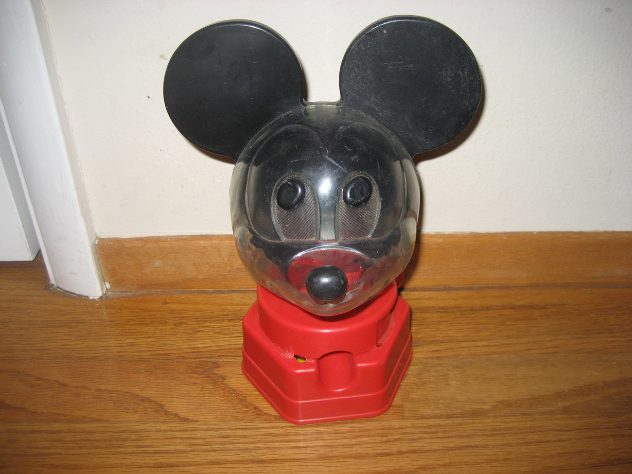 "VINTAGE & DATED 1968 HASBRO ""MICKEY-MOUSE"" GUMBALL MACHINE"