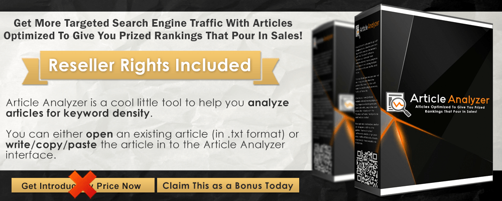 Article Analyzer Infographic