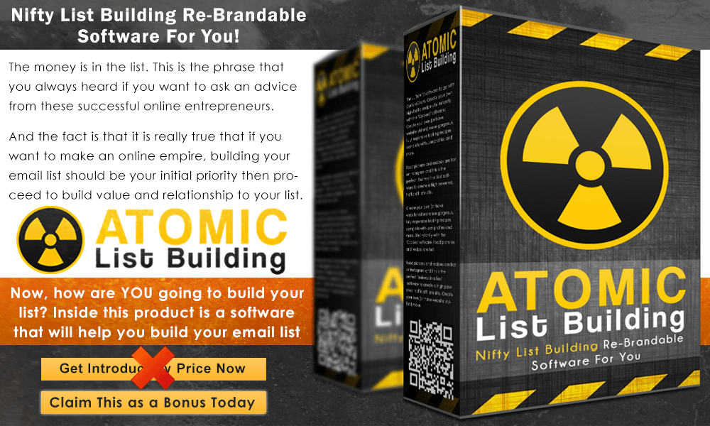 Atomic List Building Info Graphict