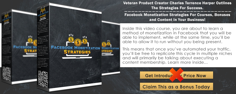 Facebook+Monetization+Strategies+Infographic