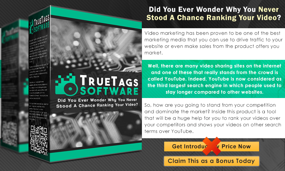 TrueTags Software Info Graphic