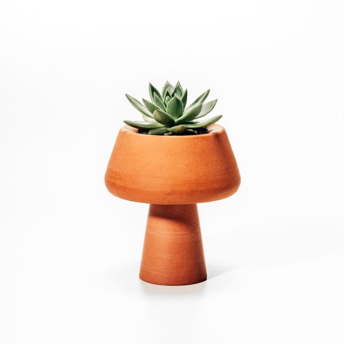 Vaso cachepot em terracotta