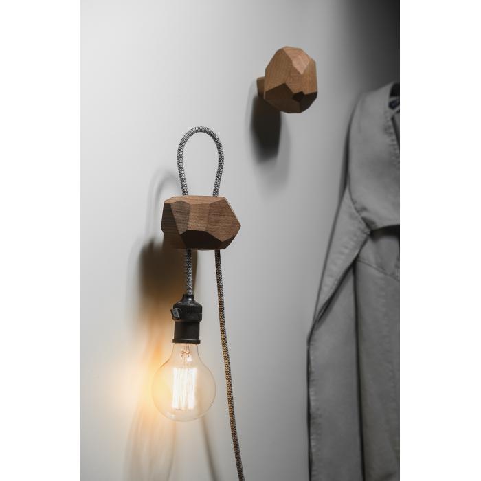 Luminária-Cabideiro Lapidu