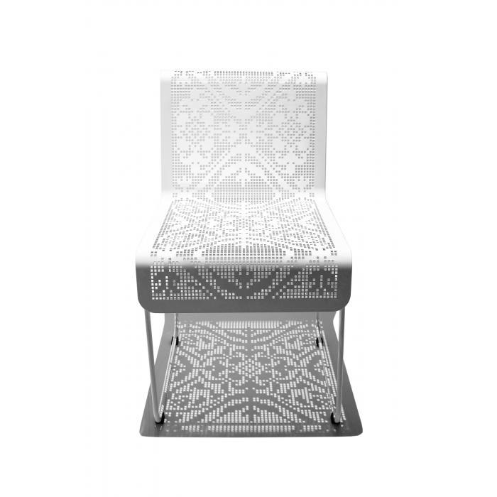 Cadeira Renda Pintura Eletrostática