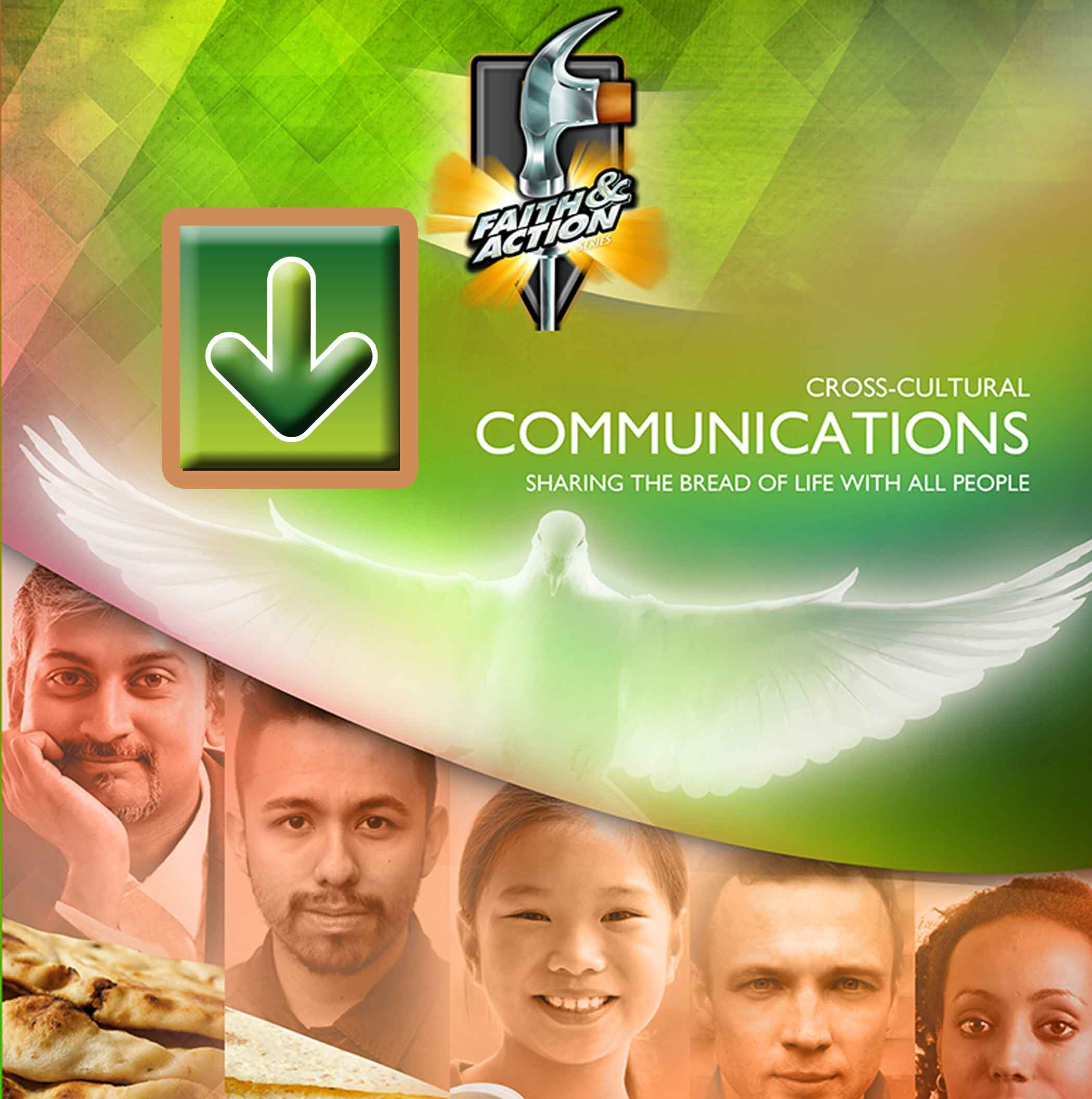 Cross-Cultural Communications—Sharing the Bread of Life With All People: Missions 2 - eVisuals Zipped Download - 4441-31EX
